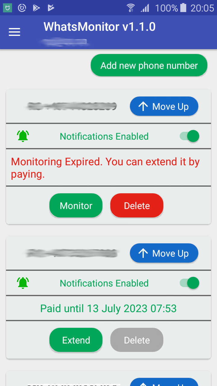 WhatsMonitor | GM Software